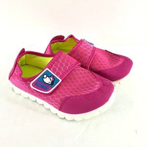 Fantiny Girls Water Shoes Slip On Hook & Loop US 1